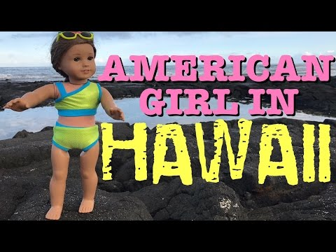 American Girl Kanani Travels To Hawaii