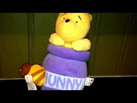 Winnie the Pooh Theme Music Children's Musical Wind Up Toy Video