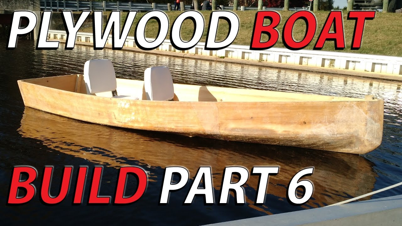 HomeMade plywood boat part 6 - FLOAT