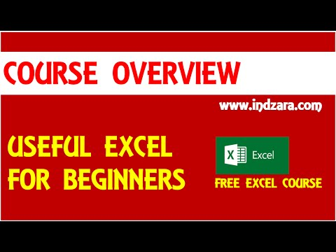 Useful Excel for Beginners - Course - Overview - 동영상