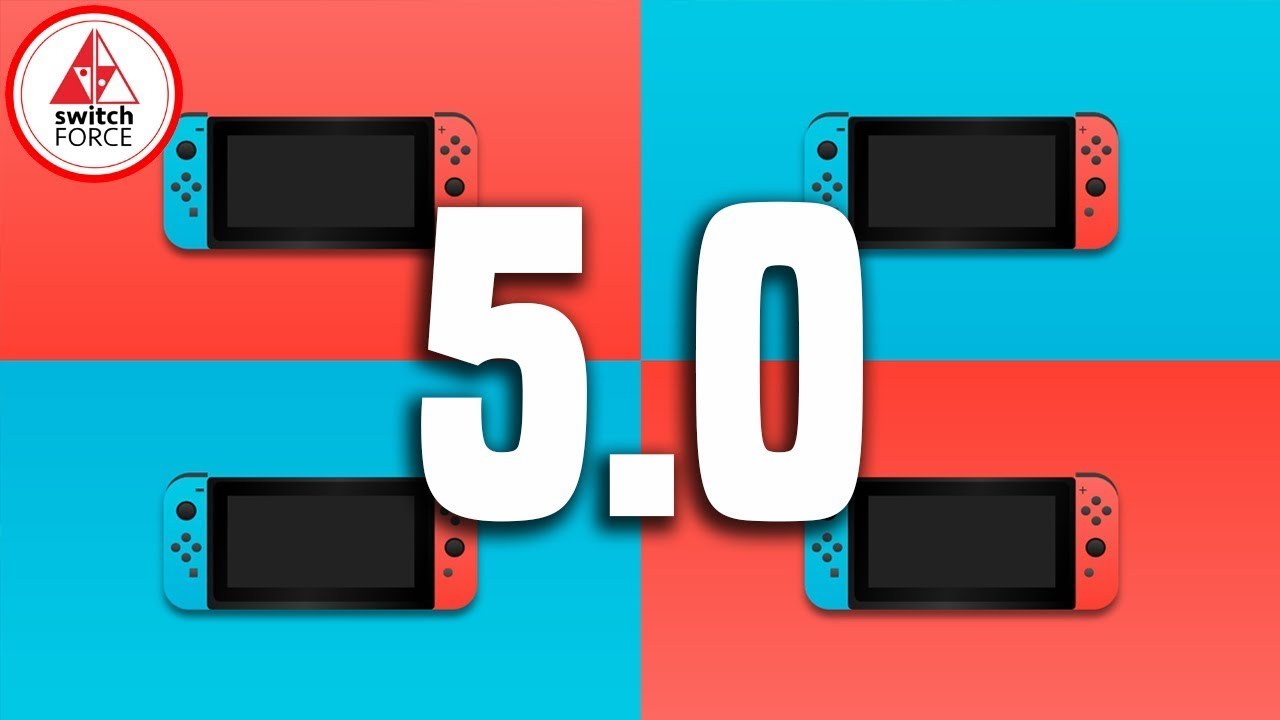 Nintendo Switch Update 5 0 NEW FIRMWARE VERSION!! FULL Features Guide