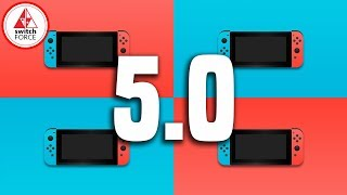Nintendo Switch Update 5.0 NEW FIRMWARE VERSION!! FULL Features Guide
