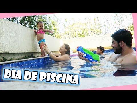 DIA DE PISCINA EM FAMILIA | Kathy Castricini