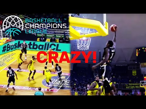 ALLEY-OOP ACTION! Best of All-Time | Basketball Champions League