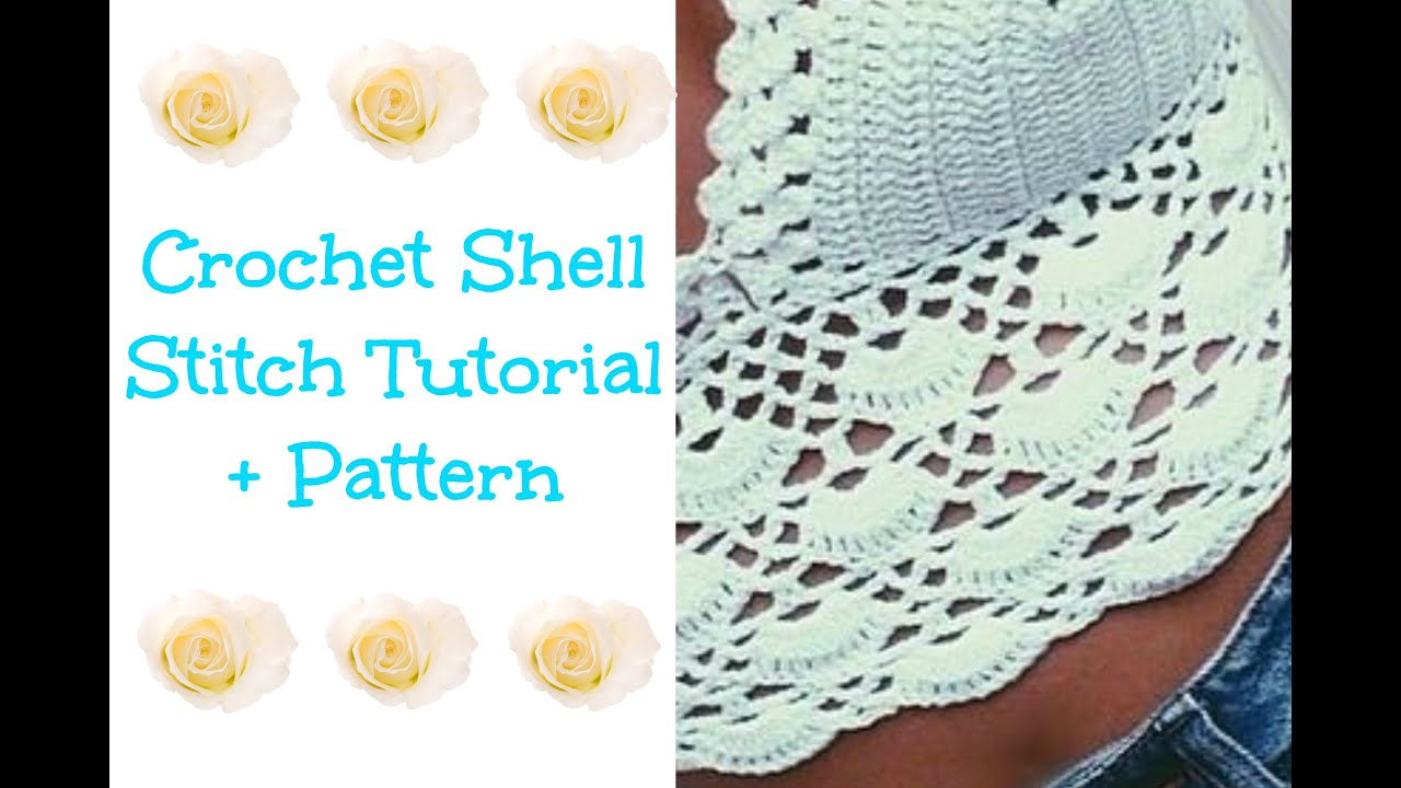 Crochet Shell Tutorial + Pattern - YouTube