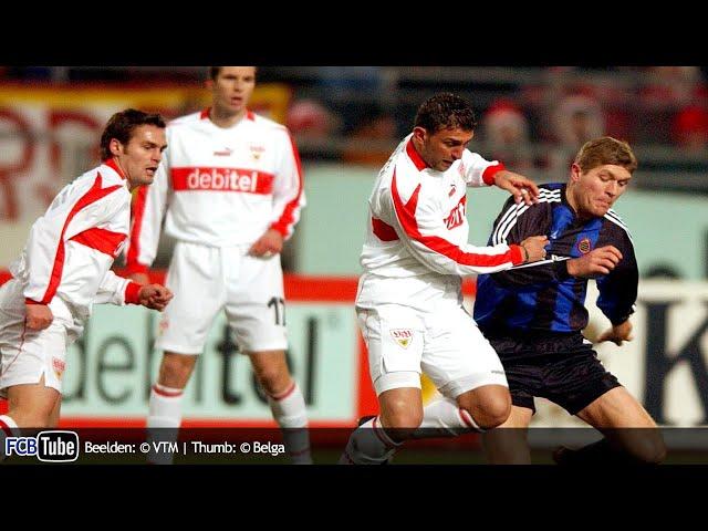 2002-2003 - UEFA-Cup - 02. 16de Finale - VfB Stuttgart - Club Brugge 1-0