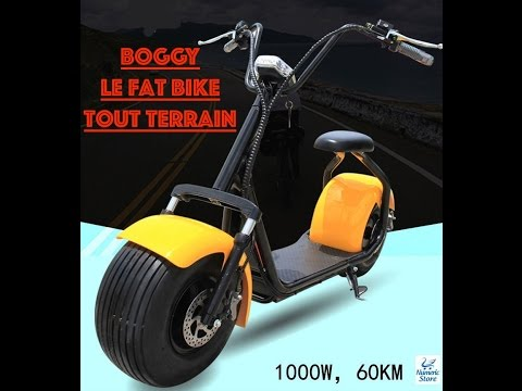 boggy le fat bike electrique tout terrain en action youtube. Black Bedroom Furniture Sets. Home Design Ideas
