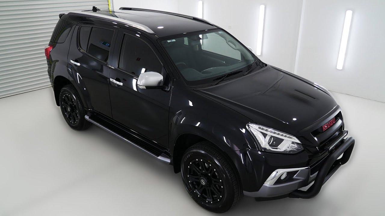 ISUZU MU-X LST 4x4 Cosmic Black Auto Wagon I80398181