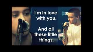 One Direction   Little Things   Acoustic Pictures & Lyrics