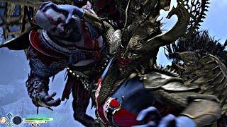 God of War 4 - Secret Valkyrie Final Boss SIGRUN (God of War 2018) PS4 Pro