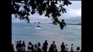 Australia & Japan Army Patrol Boat in Vanimo, SP PNG
