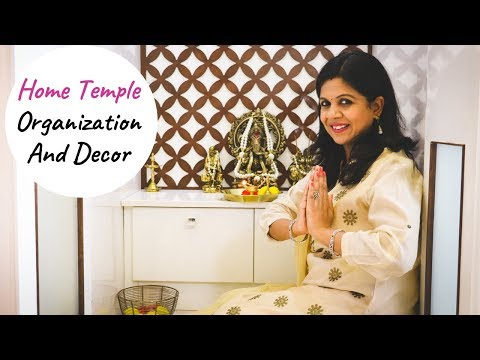 Home Mandir Organization And Decor | Home Temple Tour