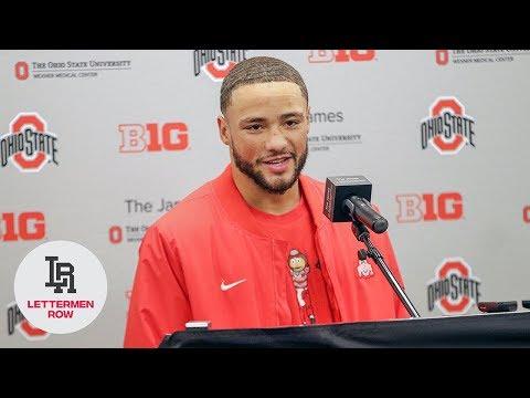 Austin Mack: Ohio State receiver talks as Buckeyes prepare for Wisconsin