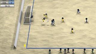 Stickman Soccer 2014 - Beach Soccer Gameplay