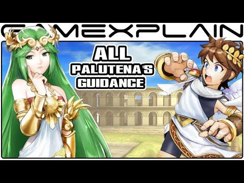 Smash Bros Wii U: All Palutena's Guidance Secret Conversations (Easter Egg)