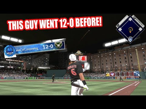 THIS GUY WENT 12-0 BEFORE!  - MLB The Show 17 Battle Royale Diamond Dynasty Gameplay