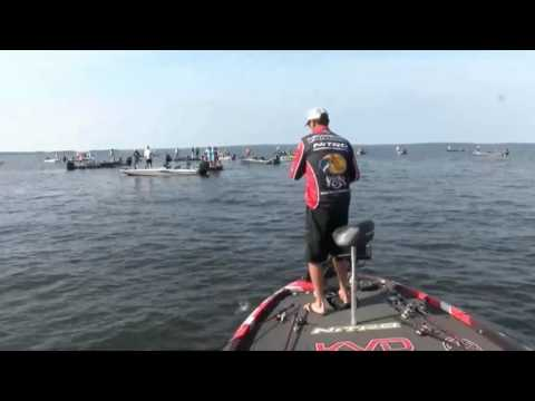 KVD Reels In A Monster 9+ Pound Bass - Day 3 Toledo Bend