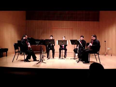 Klezmer dances by Henry Caceres and The Forward 4 Clarinet Quartet