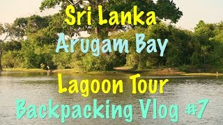 Sri Lanka - Arugam Bay - Lagoon Eco Tour - Backpacking Travel - Vlog #7