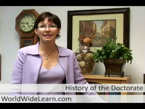 history-of-the-doctorate:-from-auspicious-beginnings-to-online-phd