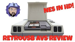 retroUSB AVS Review - NES in HD! | RGT 85