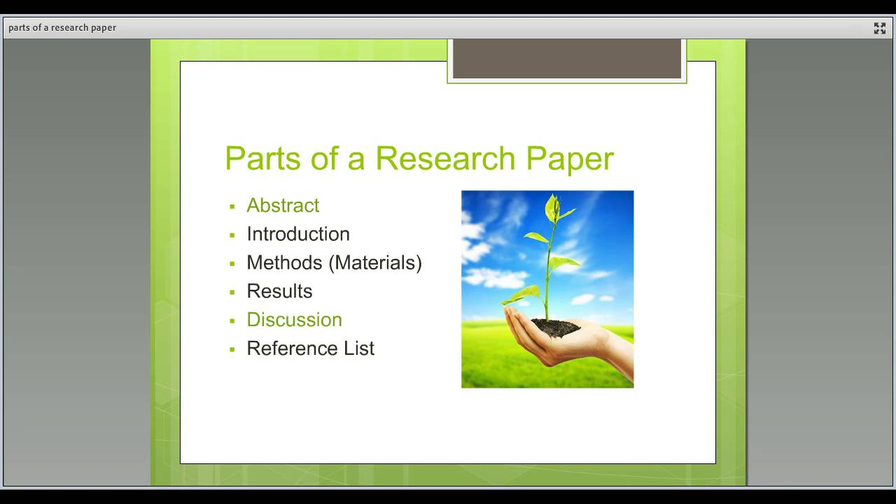 composites of a research paper