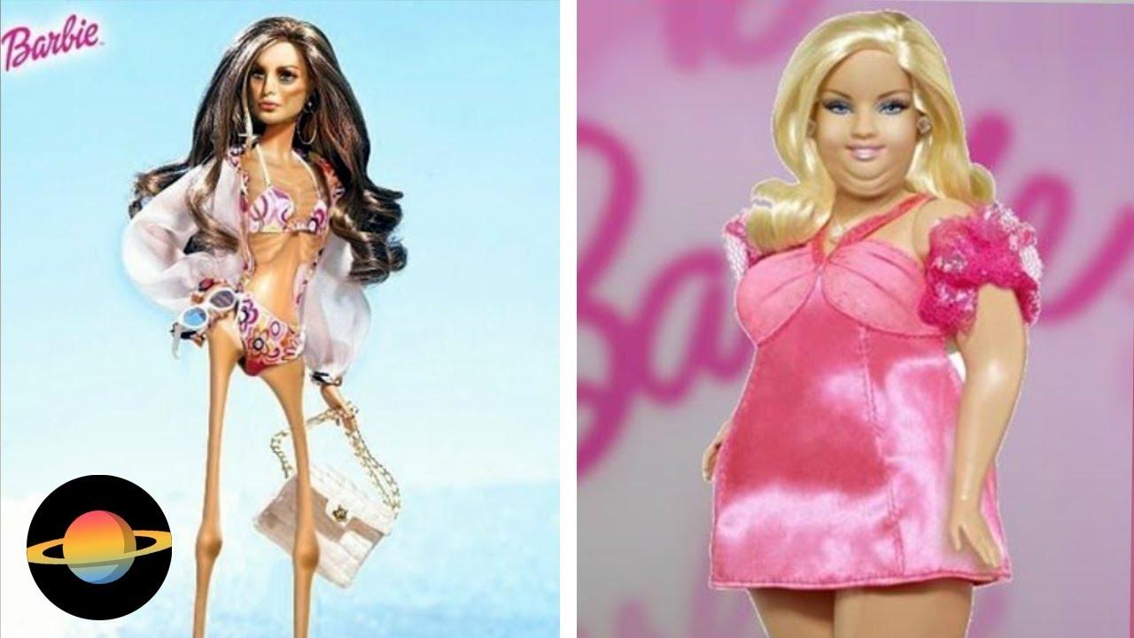 10 Najbardziej Kontrowersyjnych Lalek Barbie Youtube