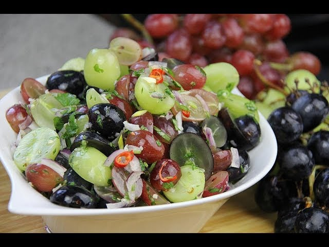 Grapes Chow (spicy pickled grapes) | CaribbeanPot.com
