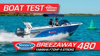 Tested   Stessco Breezeaway 480 with Yamaha F70 Outboard