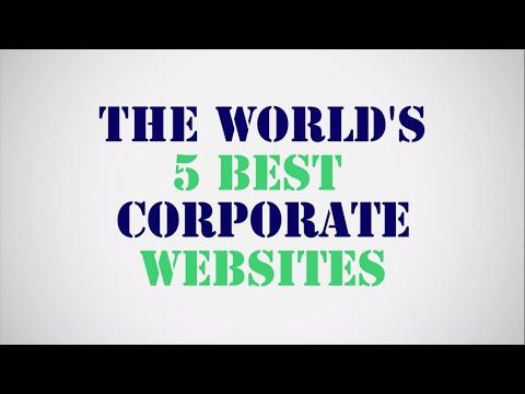 The World's 5 best corporate websites