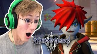 KINGDOM HEARTS 3 D23 TRAILER REACTION | MONSTERS INC!!!
