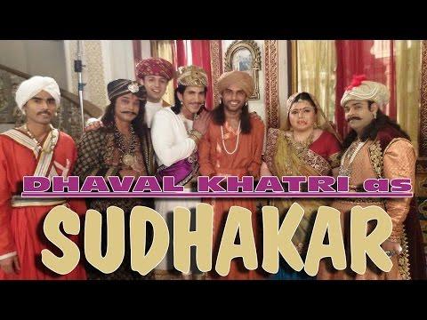 Dhaval Khatri as Actor in Akbar Birbal BIG MAGIC CHANNEL - 2015