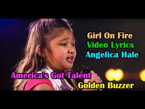 Angelica Hale (Girl On Fire Cover) Lyrics HD