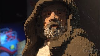 Thor: Ragnarok and Star Wars Life Size Lego Sculptures Amaze at Comic Con 2017 - IGN Access