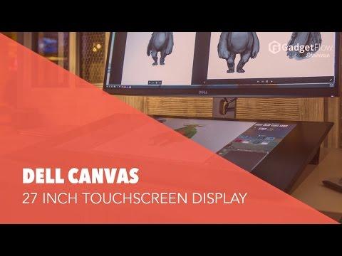 Dell Canvas: Huge Desktop Touchscreen! - #GadgetFlow Showcase