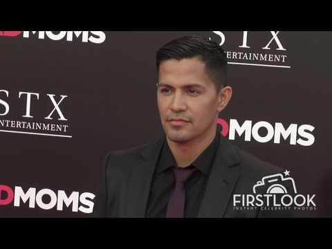 Jay Hernandez, Daniella Deutscher at Bad Moms LA premiere