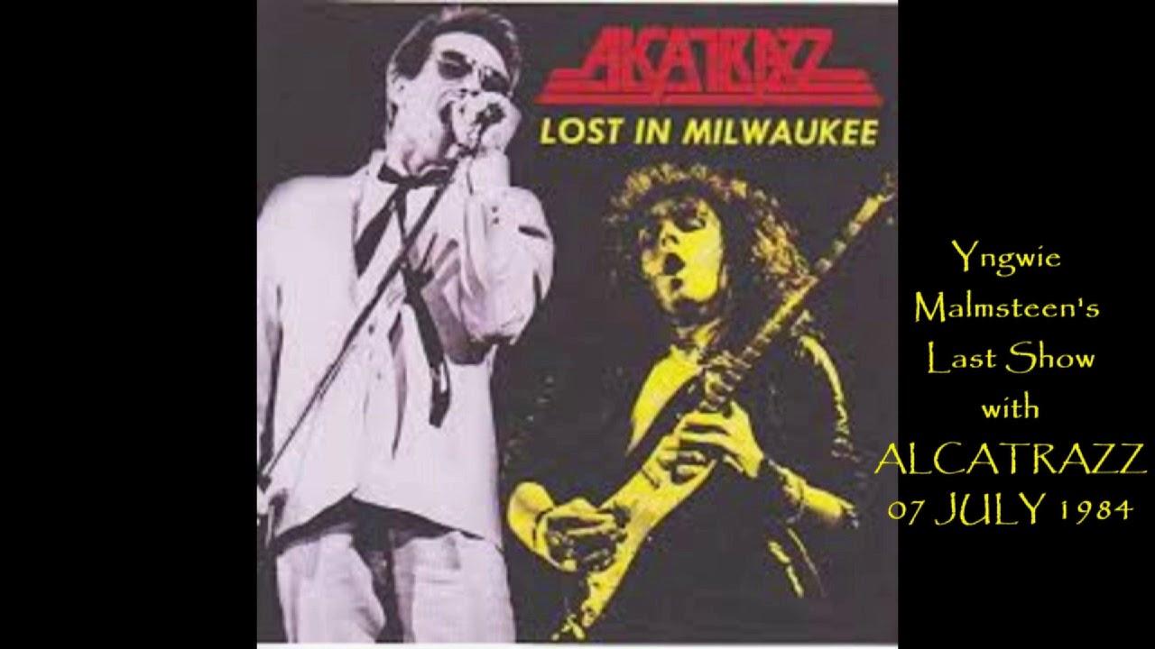ALCATRAZZ with YNGWIE -- 7 JULY 1984 Milwaukee -- MUSIC I LOVE with AL NEWPORT