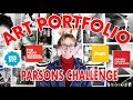 Art School Portfolio + Website Walkthrough (Parsons Challenge) & Scholarships