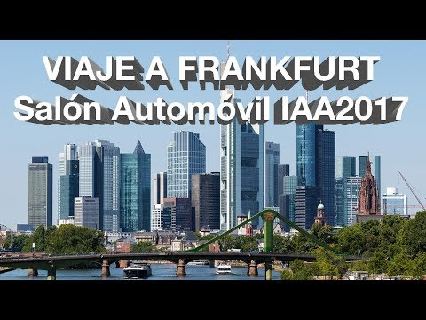 Viaje a Frankfurt Primera Parte