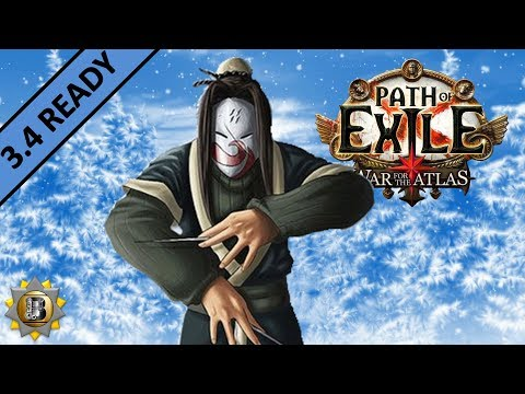 [3.4] Ethereal Knives Build - Assassin Shadow - Path Of Exile War For The Atlas - Delve