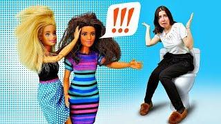 Разборки в туалете: Барби vs Тереза - Куклы Барби в школе. Видео для девочек - Я не хочу в школу 9