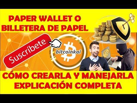 CÓMO CREAR BILLETERA DE PAPEL PARA BITCOIN || PAPER WALLET PARA GUARDAR O REGALAR | DETALLADO!!