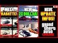 🙌Alle Neuen Inhalte!🙌 MEGA Rabatte, 2X+1.25X DOLLAR+RP, GTA 6, Update Infos + Mehr! [GTA 5 Online]