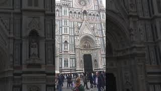 Florence Italy Firenze churches a short walk from main train station Michelangelo San Lorenzo AWE