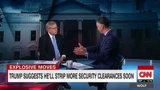Ex intel leaders unite against Trump revoking clearances CNN