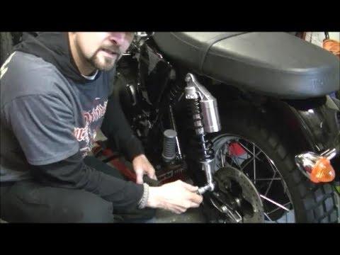 Delboy S Garage Triumph Scrambler Rear