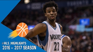 Andrew Wiggins Full Highlights 2016.11.17 vs 76ers - 35 Pts, 10 Rebs, 4 Ast, MONSTER!