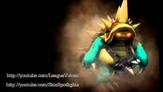 Rammus Voice - Français (French) - League of Legends