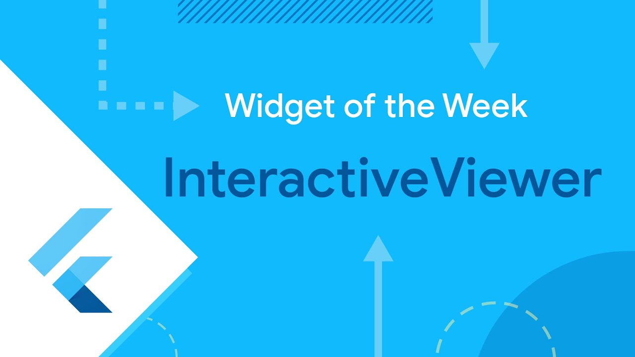 InteractiveViewer (Widget of the Week)