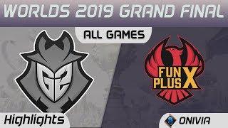 G2 vs FPX Series Highlights Worlds 2019 Grand Final G2 Esports vs FunPlus Phoenix by Onivia
